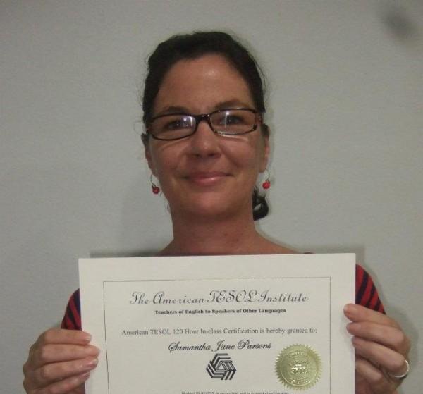 TESOL In-class Certification Program