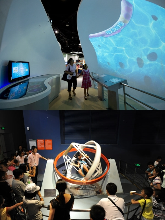 Fun in China, Science & Technology Museum, Astrovision Dome, & 3D IMAX TESOL