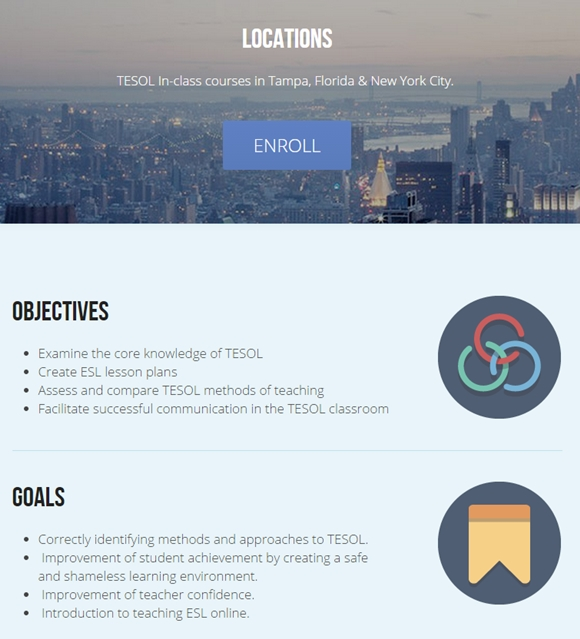 TESOL In-class Certification, Catalog and Dates – American TESOL ...