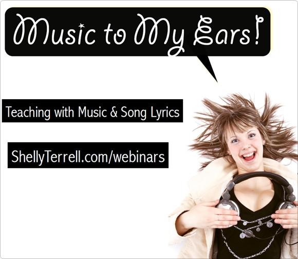 Webinar – #TeachingEnglish with #Music