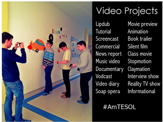 #TESOL Webinar, Video Projects for Digital Learners