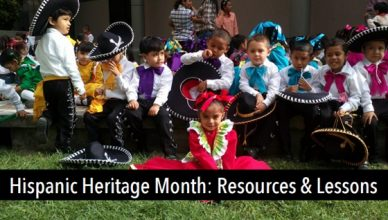 Hispanic Heritage Month: Resources & Lessons, #TESOL Webinar
