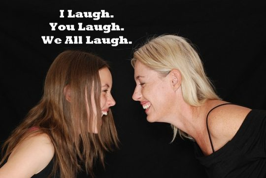 Going with the Flow, A Class that Laughs Together, Learns Together