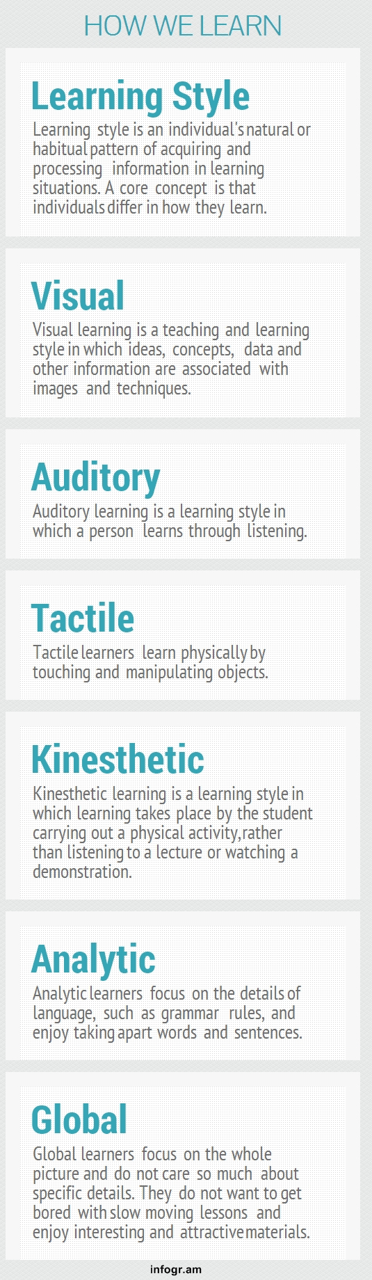 literature review on learning styles In a previous systematic review, the author proposed that adaptation to learners' cognitive and learning styles (clss) could improve the efficiency of.