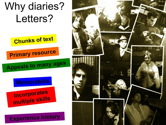 Using Letters and Diaries to Teach English