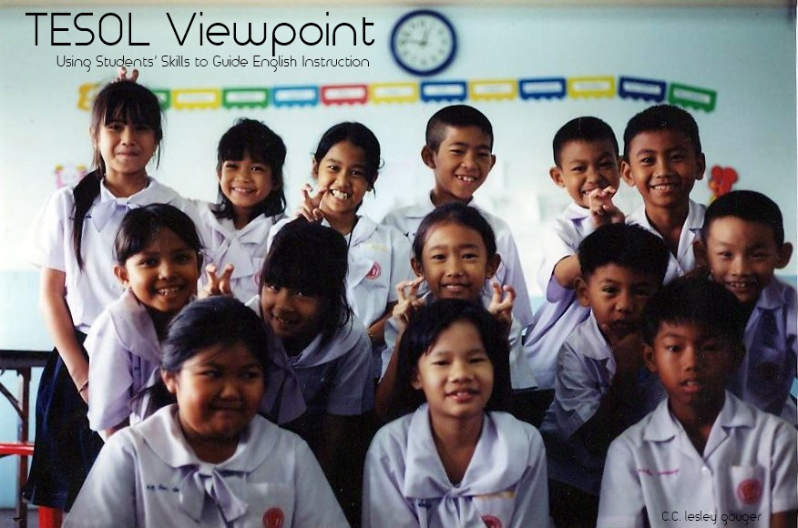 #TESOL Viewpoint, Using Students' Skills to Guide #English Instruction