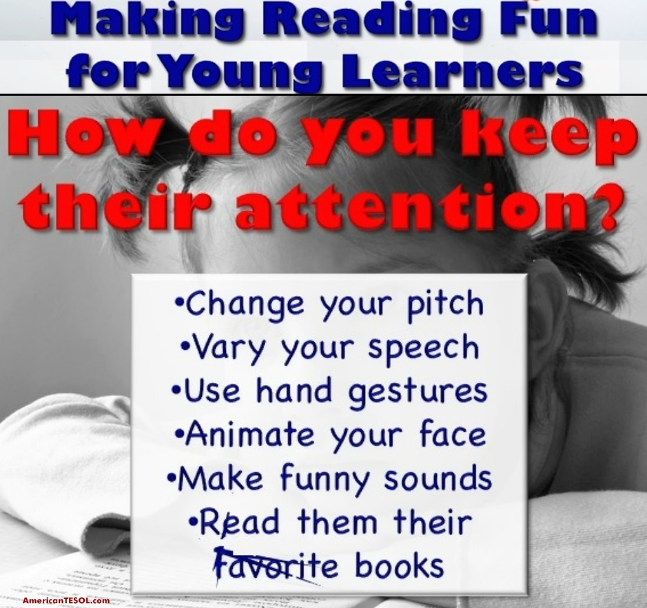 How to Make #Reading #Fun for Young Learners