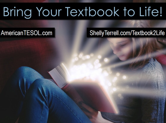 Bring Your Textbook to Life, #TESOL Webinar