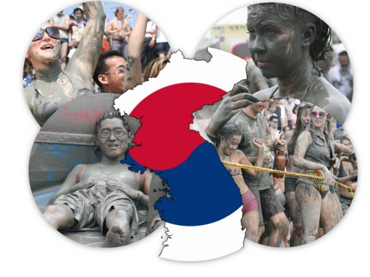 Boryeong The Famous Mud Festival in Korea