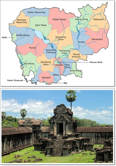 3 Regions to Teach English Abroad in Cambodia