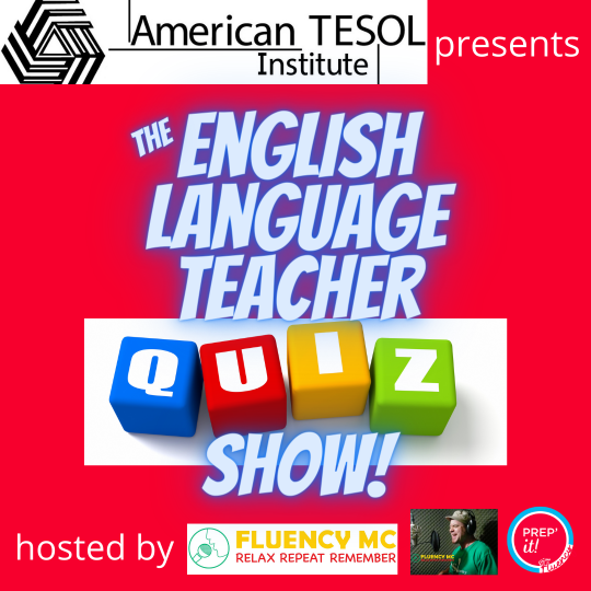 English Teacher Quiz Show